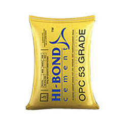 HI-BOND Cement, Packaging Type: Bag, Packing Size: 50 Kg