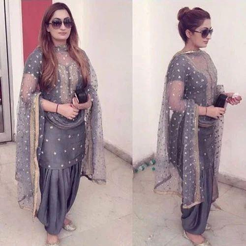 62a959be73 Casual Wear Medium Ladies Designer Punjabi Suits, Rs 1995 /piece ...