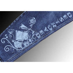 Jeans Engraving Services