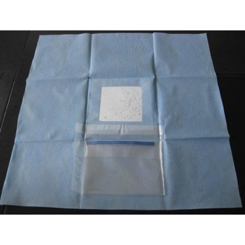 Non-Woven Z Plus Ophthalmic Drapes, Packaging Type: Carton Box