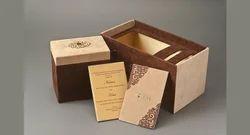 Rectangular Wedding Card Box, Size: 10*5.5 Inch