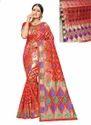 Meenakari Work Banarasi Silk Fancy Sarees