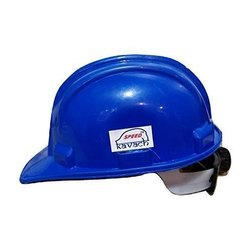 Blue Construction Safety Helmet