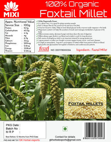 Indian FOXTAIL MILLETS 500g