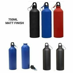 Aluminium Mate Water Bottle, Capacity: 700 mL