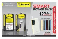 Troops Tp-1006 12000 Mah Digital Power Bank
