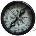 Black Round Nautical Marine Compass, Packaging Type: Corrugated Box, As A Item