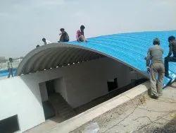 Girder Less Roof