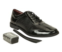 Gekko Patent Leather Black Shoes