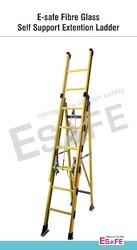 Fiberglass Self Support Extension Ladder
