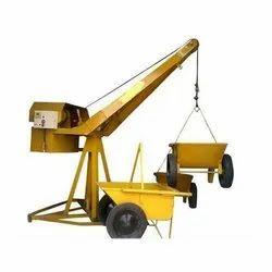 Mild Steel Monkey Hoist Machine