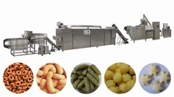Batch Type Corn Puffs Snacks Line