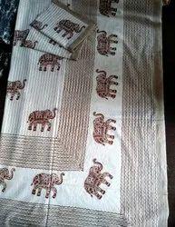 Rajasthani Jaipuri Cotton Printed Double Bedsheets