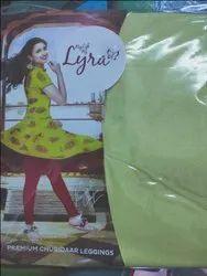 Lux Lyra Plain Churidar Leggings