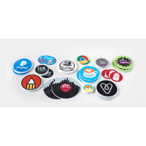Circle stickers printing services