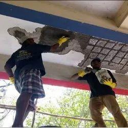 Ceiling Crack Filling Service