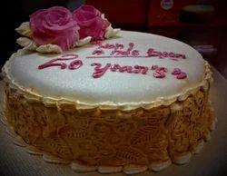 Almond Velvet Cake