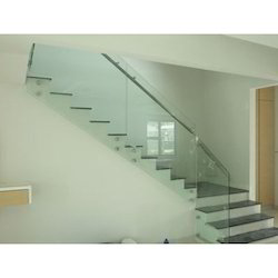 Stair Glass Railing