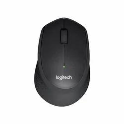 Logitech M331 Silent Plus Wireless Mouse- black