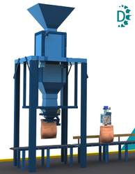 AC 3 Phase Fertilizer Bagging System, For Packing To Pelletizing, 1.5 Kw