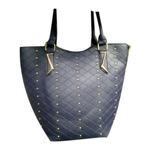 22ff048577 Navy Blue Artificial Leather Ladies Stylish Shoulder Bag