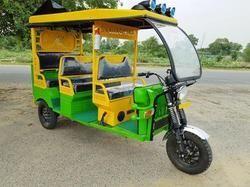Solar Passenger E Rickshaw
