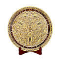 Marble Decor Round Plate