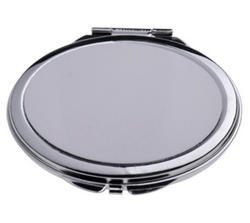 Makeup Mirror With Sublimation Metal