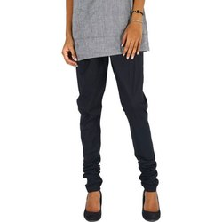 Stitched Casual Wear Ladies Black Churidar Legging Pant