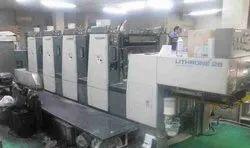 Komori Lithrone 426 2002 Model Imported Offset Machine