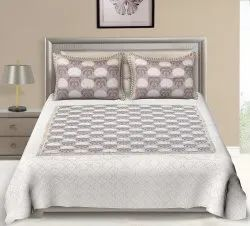 Traditional Printed Cotton Bed Sheet Double Bed