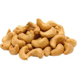 Natural Wholes Roasted Jumbo Cashew Nut, Loose, Grade: W180