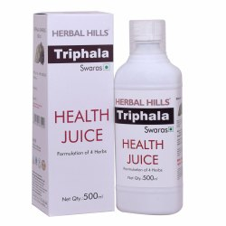 Ayurvedic Triphala Juice 500ml for Healthy Digestive System, Packaging Type: Bottle