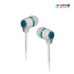 Hf-20 White/ Blue Earphone