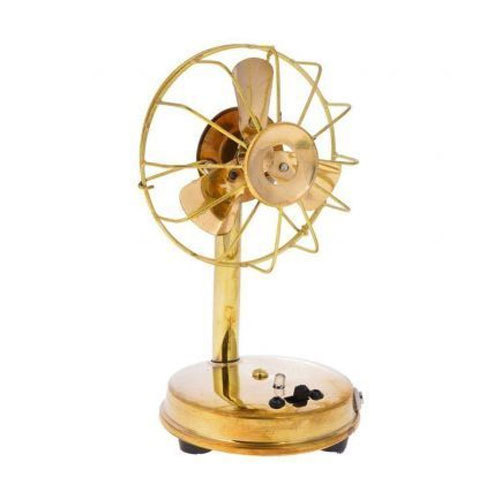Brass Table Fan