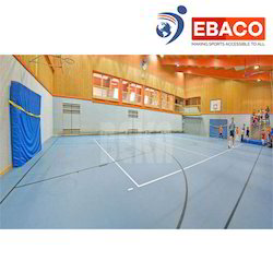 and Ebaco PU Flooring Basketball Court