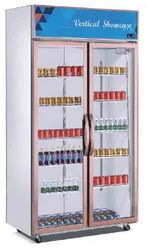 Electricity Stainless Steel 2 Door vertical showcase, Model Name/Number: Ag-700b, Capacity: 800