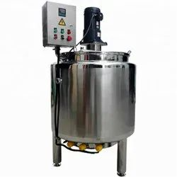 Stainless Steel Chemicals Jacketed Tank
