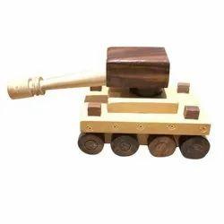 Wooden War Tank Toy