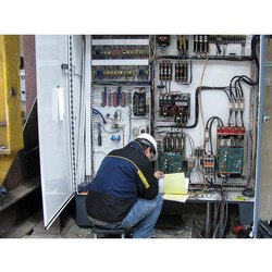 Electrical panel repair, in World Wide