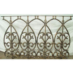 Decorative Cast Iron Railing