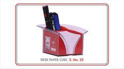 Pen Stand With Chit Pad