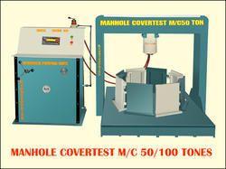 Circular Manhole Cover Testing Machine