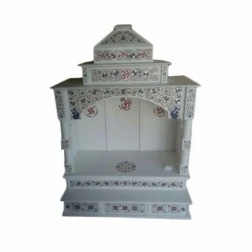 White Indoor Marble Temple