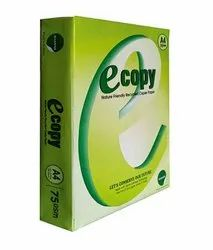 White A4 Size Copier Paper, For Printing, Photocopy, Packaging Size: 500 Sheets per pack