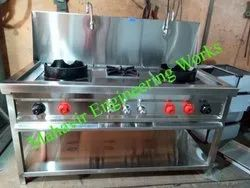 Commercial Chinese Cooking Range