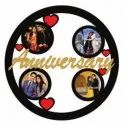 Anniversary Sublimation Wooden Wall Frame