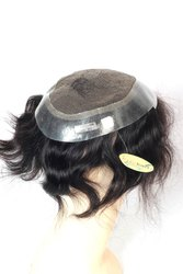 100% Human Hair Men Patch Australian Base 0.03 Ultra Thin Natural Skin Pu Front Hairline,With Double