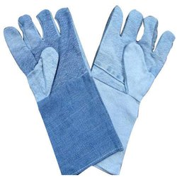 Jeans Safety Hand Gloves