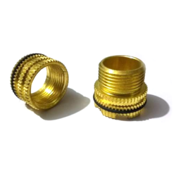 Prime Knurled Inserts Round Head Brass Insert, For Plastic Moulding
